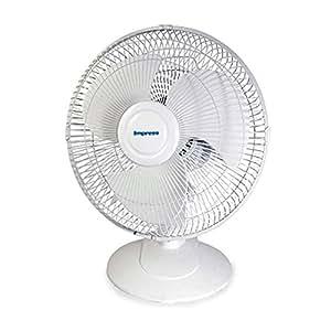 Impress 12 inch table fan white for 12 inch table fan