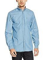 Pedro del Hierro Camisa Vaquera (Azul)