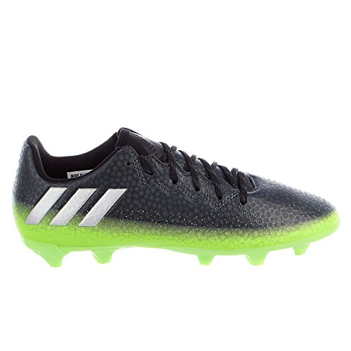 adidas Performance Kids' Messi 16.3 Firm Ground Soccer Cleats, Dark Grey/Metallic Silver/Neon Green, 3.5 M US Big Kid (Neon Green Football Cleats compare prices)