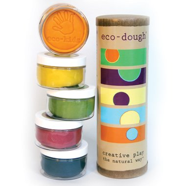 Eco Kids Natural Plant Dye Modeling Dough Made in the USA