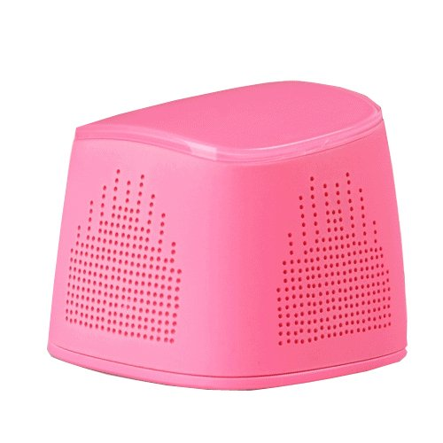 Ikanno I102 Mobile Boombox Bluetooth Speaker And Speakerphone ,Bluetooth Wireless Speaker In Pink