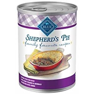 Blue Buffalo Family Favorite Recipes Shepherd's Pie Canned Dog Food, 12.5-oz, case of 12