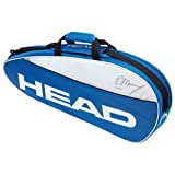 New HEAD MURRAY TEAM PRO 3 RACKET TENNIS BAG NEW 2013, PADEL TEN