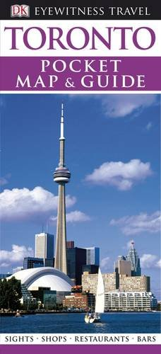 DK Eyewitness Pocket Map and Guide: Toronto