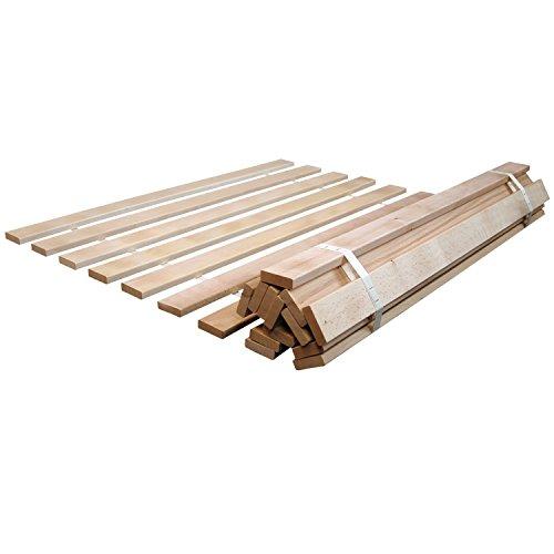Rete avvolgibile per materasso con doghe in legno - Reti con doghe ikea ...