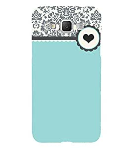 Floral Love Green 3D Hard Polycarbonate Designer Back Case Cover for Samsung Galaxy Grand Max G720