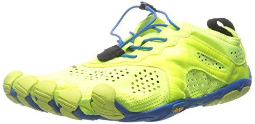 Vibram Five FingersV-run - Scarpe Running Uomo , Multicolore (Mehrfarbig (Yellow/blue/teal)), 46