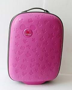 Reisekoffer trolley minnie maus mouse fuchsia 2 r der koffer 37x55x20 hartschale garten - Pool hartschale ...