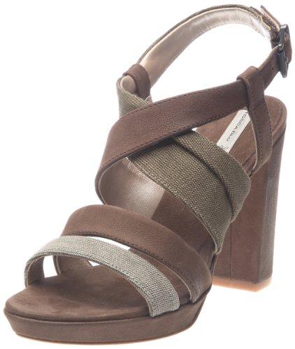 Tosca Blu Shoes Giglio, Sandali Donna, Marrone (Marron (60 T Moro)), 37