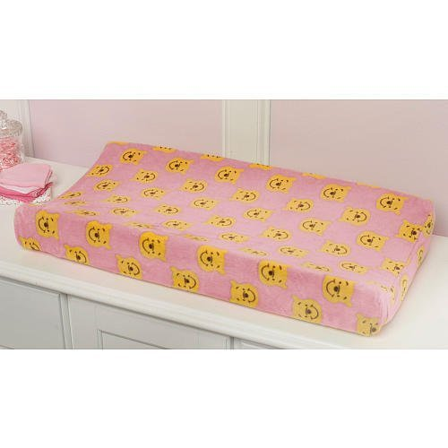 Disney Sweet Pooh Collection plush velour changing pad cover