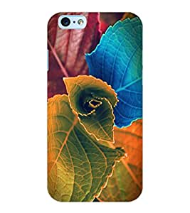 ColourCraft Beautiful Leafs Design Back Case Cover for APPLE IPHONE 6S