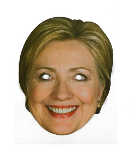Hillary Clinton Celebrity Politician Card Face Paper Mask