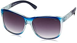 Fila Gradient Square Women's Sunglasses - (SF8954K576QASG|57|Grey Gradient)