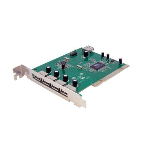 Startech.com 7 Port (4 External, 3 Internal) PCI USB Card Adapter
