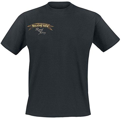 Running Wild Skull T-Shirt nero XL