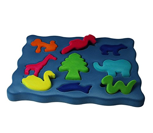 Rubbabu, 3D Shapesorter - Animal Shapes - 1