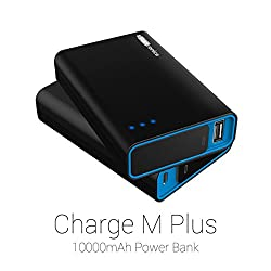 Portronics Charge M Plus 10000 mah Power Bank-Black