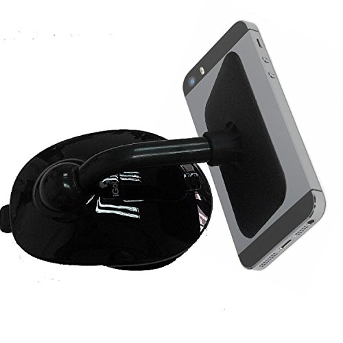 Cell Phone Holder - Mobile Phone Car Mount - Sticky Suction Stand - #1 Best Mount By Igottech - Smartphone Stand Holds Iphone 5 Gps Samsung Galaxy S3 Ipad And More - Best Auto Iphone Holder On Market - Most Wished Cell Phone Accessories front-56575