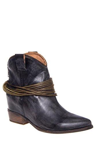Raina Low Heel Boot
