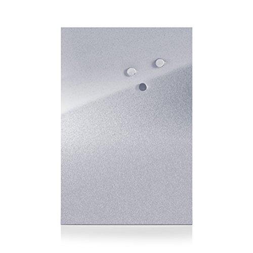 zeller-11120-tableau-magnetique-inox-40-x-60-cm