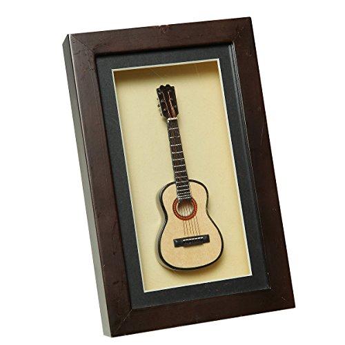 Ambiente-Haus-81015-Wandschmuck-Gitarre-im-Rahmen-22-x-14-cm