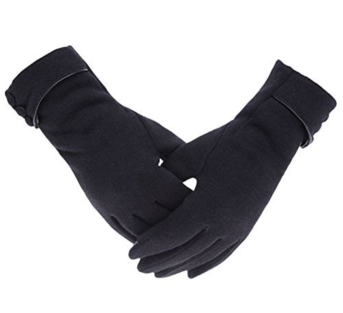 knolee-womens-screen-gloves-warm-lined-thick-touch-warmer-winter-gloves-black-one-size
