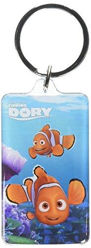 Disney Pixar Finding Dory Nemo & Marlin Lucite Portachiavi