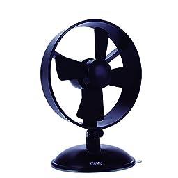 Desk Fan Mini USB Table Fan for Kids(2 Speed,Super Light,Very Safety,5 Inch)(Black)