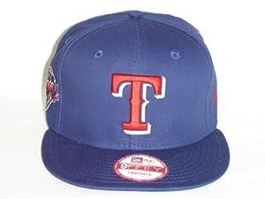 NewEra MLB Texas Rangers Royal Blue Primary Fan Snapback Cap 9fifty by New Era