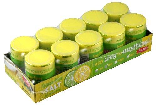 Twang 10 Pack Lemon-Lime 1.15oz Salt Shakers talkingrain sparkling water lemon lime 16 9 ounce pack of 24