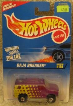 1996 HOT WHEELS BAJA BREAKER-COLLECTOR #128-WITH OPENING HOOD