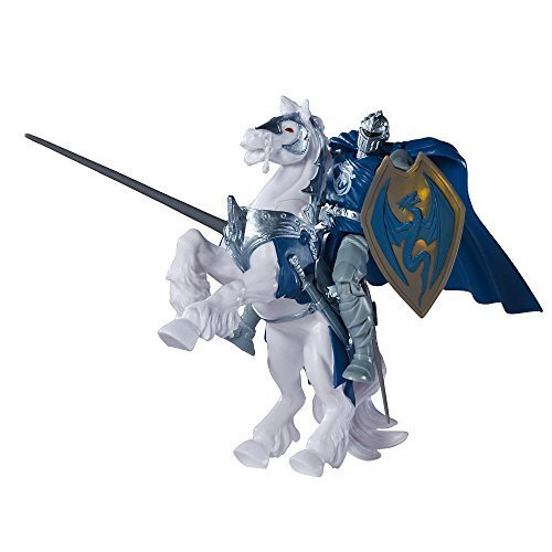 True Legends Lancelot with Horse Playset - 1