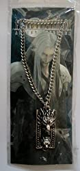 New Final Fantasy VII Sephiroth Metal Dragon Charm Necklace