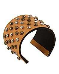 Tiekart Brown Embelished Women Bracelet/Cuffs