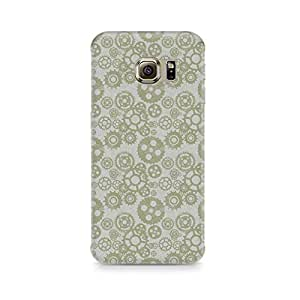 TAZindia Printed Hard Back Case Cover For Samsung Galaxy S6 Edge