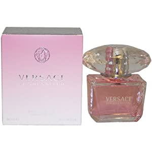 Versace Bright Crystal By Gianni Versace For Women, Eau De Toilette Spray, 3-Ounce Bottle