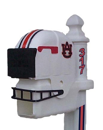 Auburn Tigers Helmet Style Mailbox at Amazon.com
