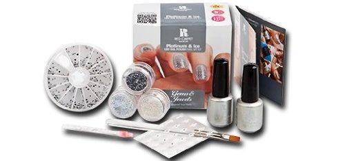 Red Carpet Manicure Kit Gel Polish, White Hot