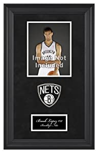 New Jersey Nets Deluxe 8x10 Team Logo Frame by Mounted Memories