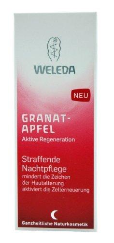 Weleda straffende Nachtpflege Gesicht / Hals Granatapfel, 30 ml