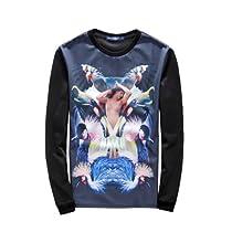 Zero Unisex Hipster Silk Blend Sweatshirts T Shirts (L ( US Size M ), No.1)