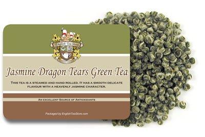 Jasmine Dragon Tears Green Tea - Loose Leaf - 16oz