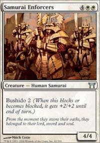 Magic: the Gathering - Samurai Enforcers - Champions of Kamigawa (Mtg Champion Of Kamigawa Cards compare prices)