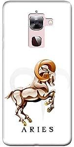 "Fashionury ""Protection Premium"" Designed Soft Silicon Back Case Cover For LeEco Le 2"