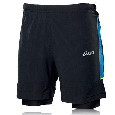 ASICS Men's Fuji 2 in 1 Short