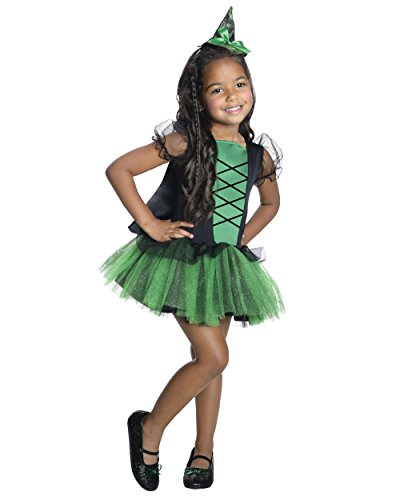 Rubie's Costume Co - Wizard of Oz - Girls Tutu Wicked Witch of the West Costume