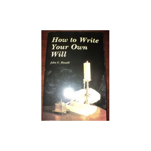 write your own will free