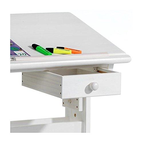 bureau enfant colier flexi r glable en hauteur et plateau. Black Bedroom Furniture Sets. Home Design Ideas