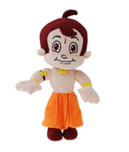 Dimpy Stuff Dimpy Stuff Chhota Bheem Soft Toy with Suction Cap, Multi Color
