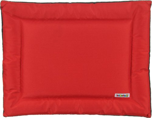Kakadu Pet All Seasons Mat Dog Bed, Fire (Red